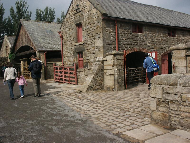 Beamish Farm Yard